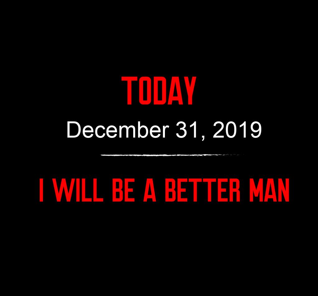 better man 12-31-19