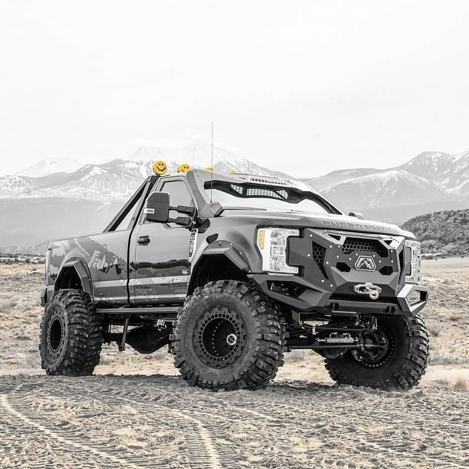 rugged looking ford f350