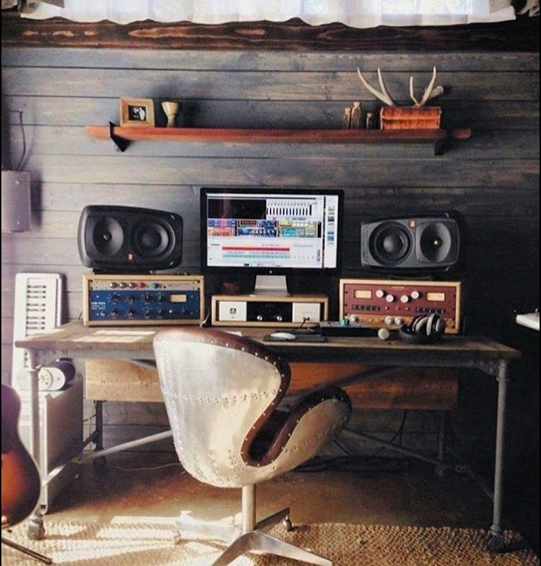 manly home sound studio
