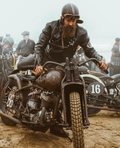 the manly life - old fashion motorcycle