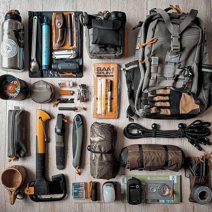 the manly life - edc gear