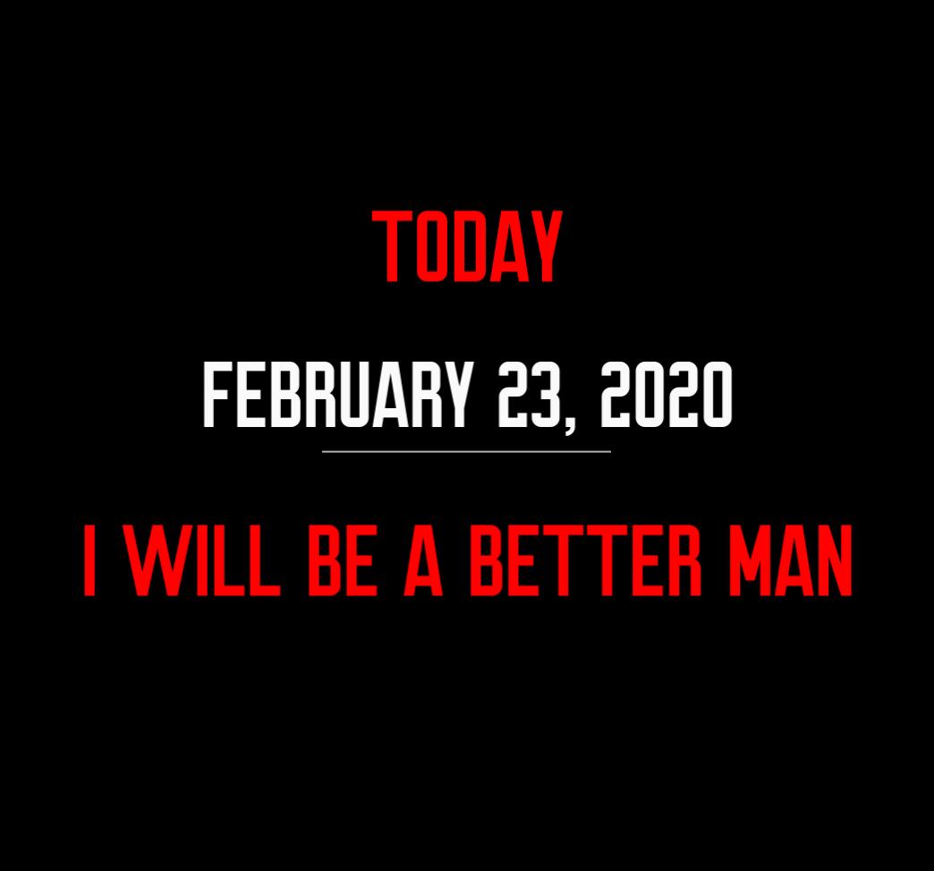 better man 2-23-20