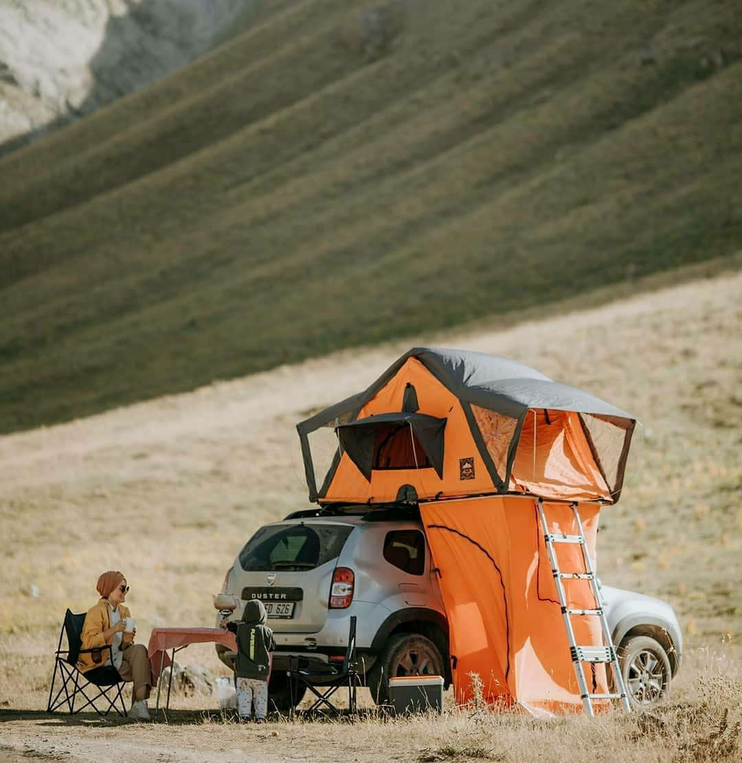 truck camping