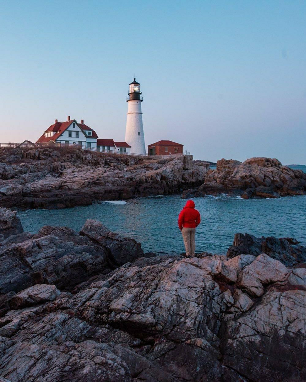 New England light house