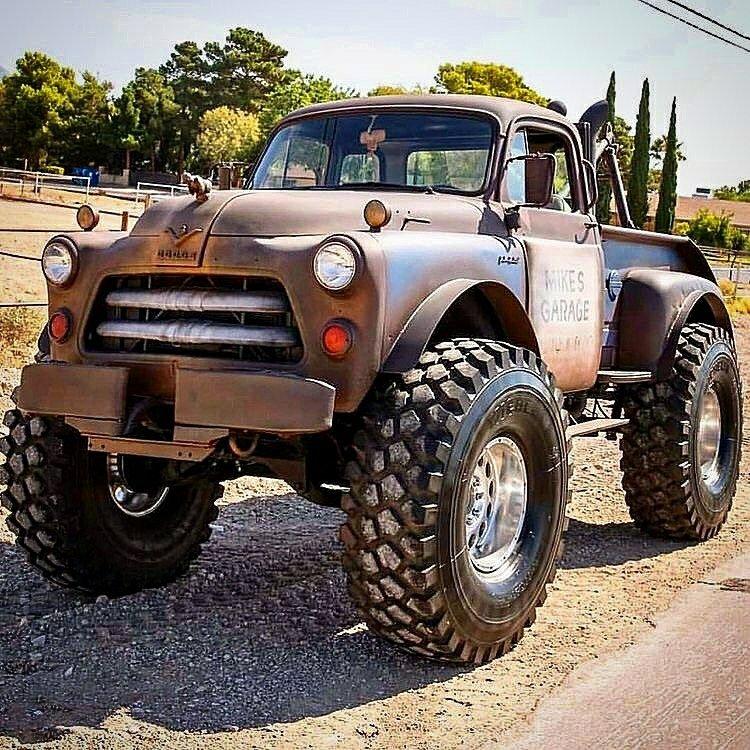 classic dodge 4x4 truck