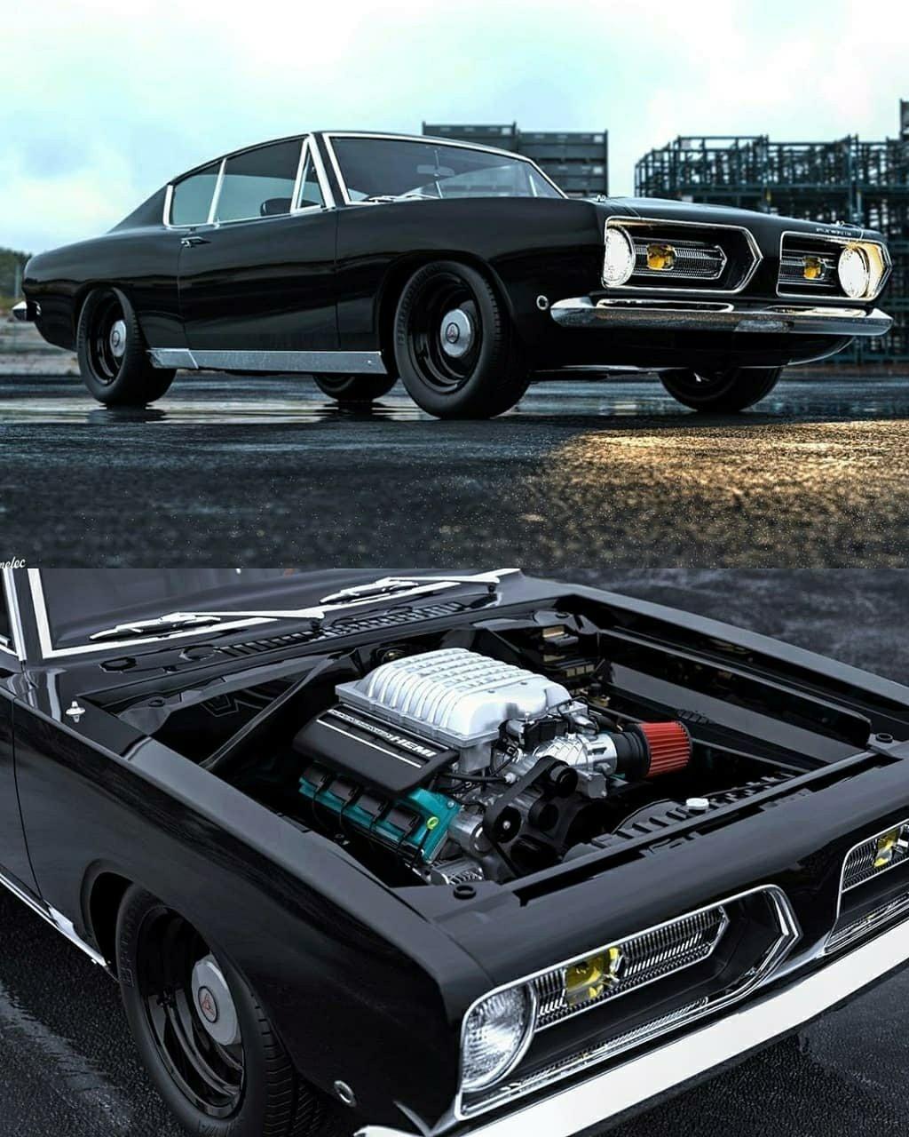 68 Plymouth Barracuda