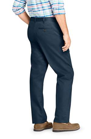 Lands' End Men's Comfort Waist No Iron Chino Pants