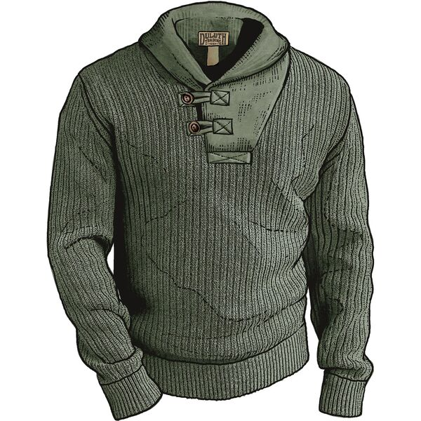 Mens High-Neck Infantry Sweater