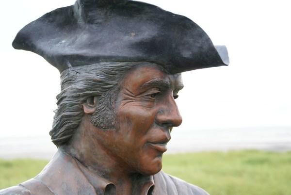 statue of Meriwether Lewis