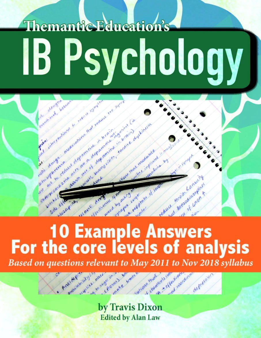 10 Example Exam Answers! | IB Psychology