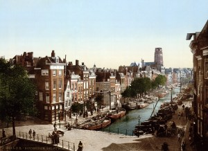 the-delftsevaart-in-rotterdam-netherlands-around-1900