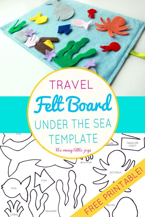 Travel felt board: \