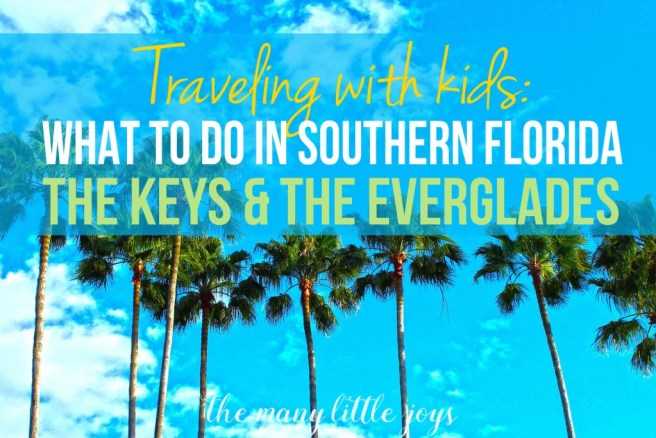 If you're going to Florida, check out these ideas for fun, family-friendly things to do with kids in The Florida Keys & The Everglades.