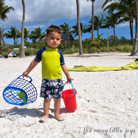 Travel with Kids - The Florida Keys and The Everglades Smathers Beach