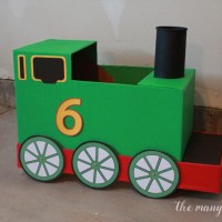DIY Train Halloween Costume