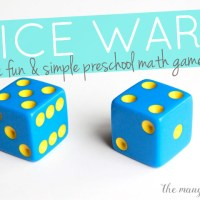 Dice Wars: A simple & fun math game for kids