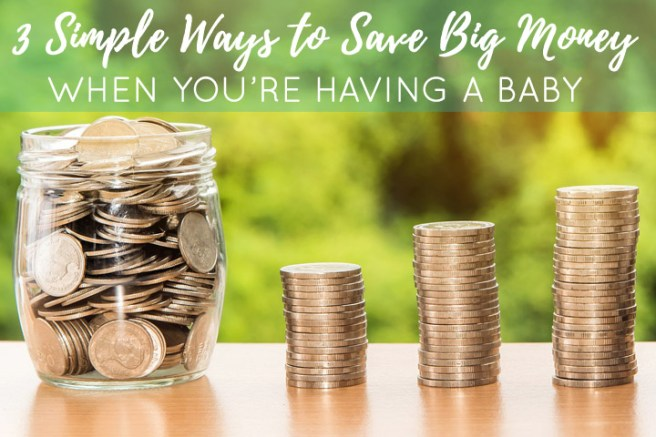 Babies are expensive. There is no way around that...however, you can save hundreds or even thousands of dollars during your baby's first year by following these three tips.