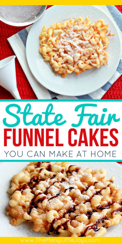 Mix together just a few simple ingredients to create this easy recipe for state fair-style funnel cakes that will make any ordinary weekend special for the whole family.