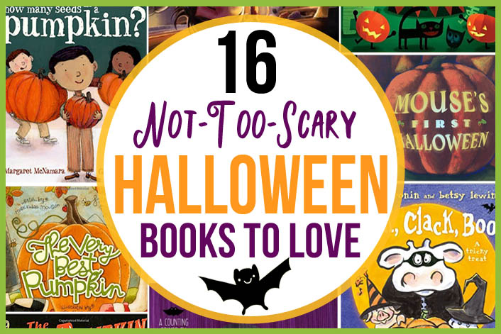 16 Not-Too-Scary Halloween Books Kids Will Love - The Many