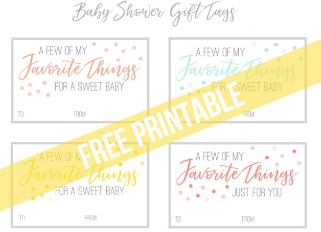 A practical baby shower gift perfect for any mom to be with free click here to download your free printable gift tags negle Gallery