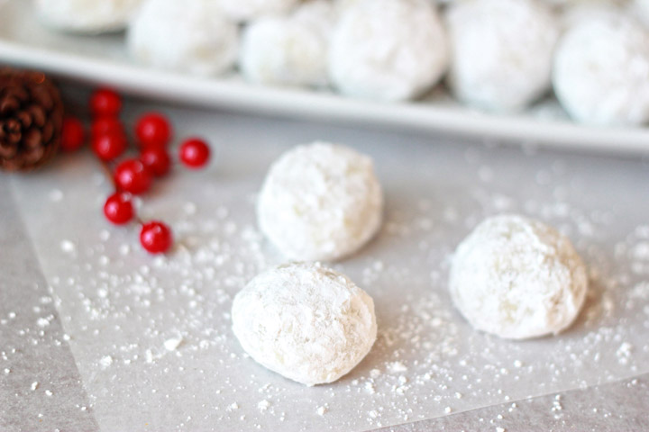 Classic Snowball Cookies My Favorite Christmas Cookie The Many
