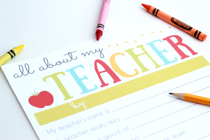 a simple meaningful teacher appreciation gift the many little joys