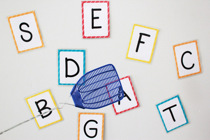 image about Alphabet Printable Flash Cards named Totally free Printable Alphabet Flashcards (higher and lowercase
