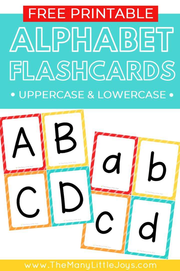image relating to Create Printable Flashcards named 23 Strange (and enjoyment!) tactics toward master with alphabet