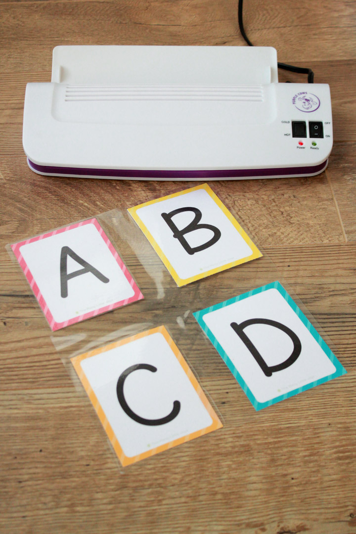 Free Printable Alphabet Flashcards (upper and lowercase ...