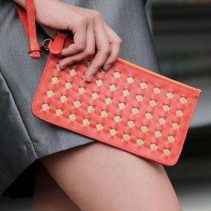 Cadenza Clutch, Ruby Red
