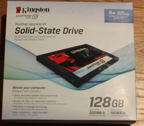 Kingston SSDNOW V200 box