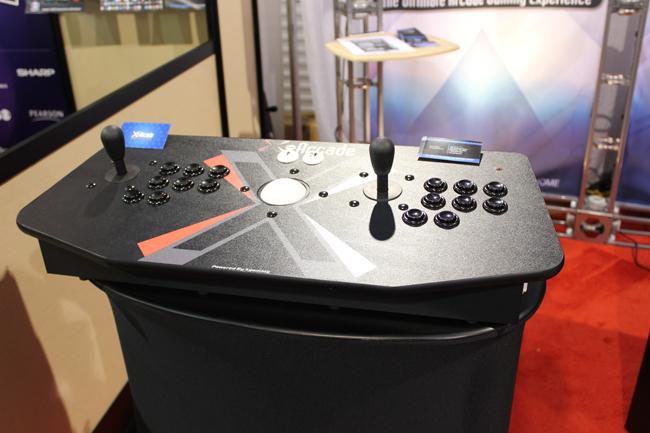 X-Arcade controller front