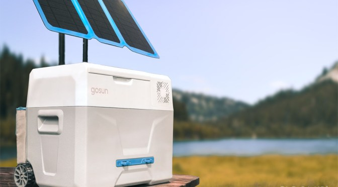 Using the heat to keep cool – GoSun Chill Solar powered cooler