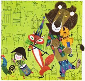 The Animal Fair: Vibrant Vintage Children's Illustration by Alice and Martin Provensen