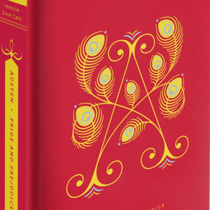 Illustrated Alphabetic Drop Cap Covers of Literary Classics by Jessica Hische