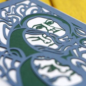 Stunning Laser-Cut Paper Illustrations of Macbeth