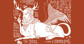"""Walt Whitman's """"Song of Myself,"""" Reimagined in Beautiful Illustrations by Artist Allen Crawford"""