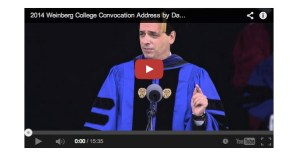 Why the Best Roadmap to an Interesting Life is the One You Make Up as You Go Along: Daniel Pink's Commencement Address