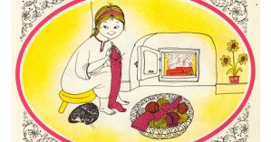 A Stocking for a Kitten: Beautiful Vintage Children's Book Illustrations of Domestic Life in Eastern Europe