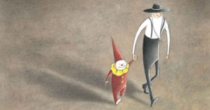 The Farmer and the Clown: A Warm Wordless Story about an Unlikely Friendship and How We Ennoble Each Other with Kindness