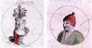 Cassandra Austen's Drawings of English Royalty for Teenage Jane Austen's Parodic History of England