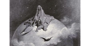 """Gustave Doré's Hauntingly Beautiful 1883 Illustrations for Edgar Allan Poe's """"The Raven"""""""