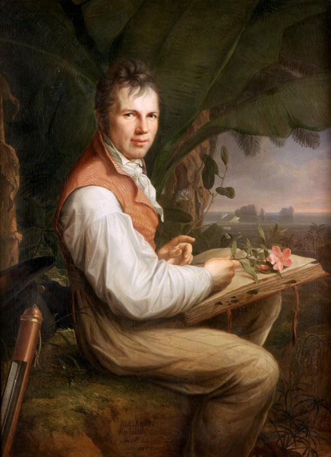 Alexander von Humboldt by Friedrich Georg Weitsch, 1806