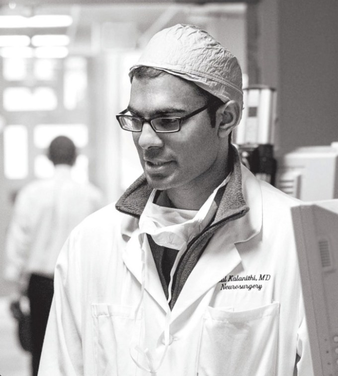 Paul Kalanithi in 2014 (Photograph: Norbert von der Groeben/Stanford Hospital and Clinics)