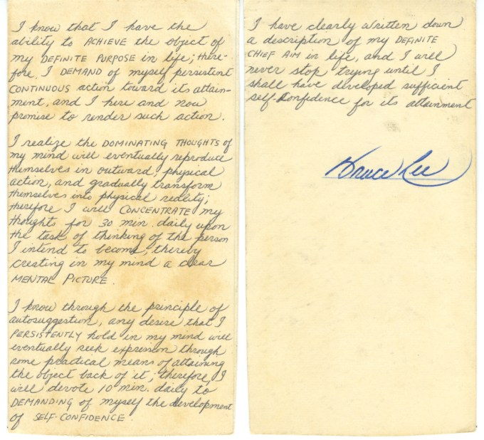 Archival material with exclusive permission from the Bruce Lee Foundation archive