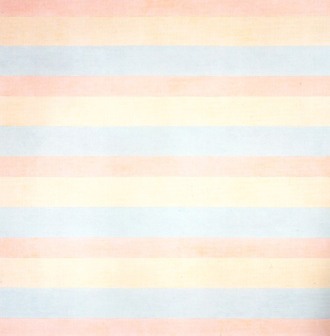 Agnes Martin, With My Back to the World, 1997