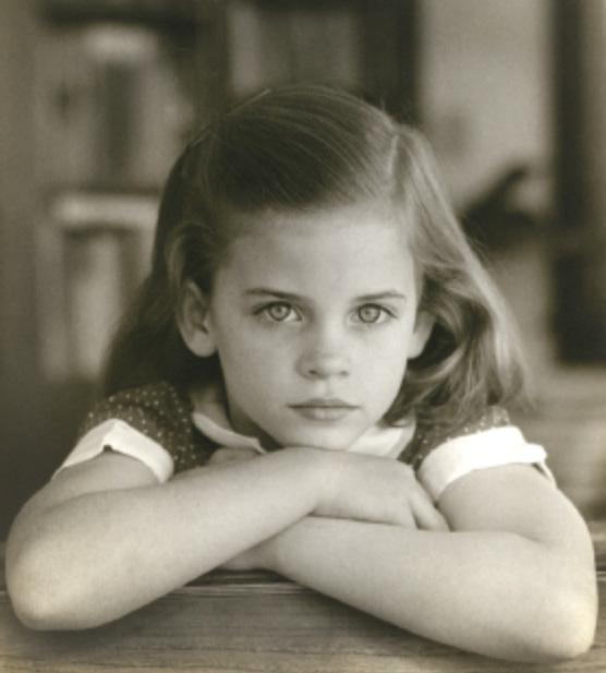 Sally Mann as a girl