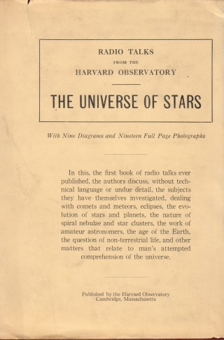Lost Radio Talks from the Harvard Observatory: Cecilia Payne, Who Discovered the Chemical Fingerprint of the Universe, on the Science of Stars and the Muse of All Great Scientists