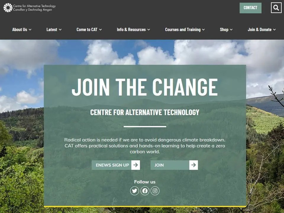The Centre for Alternative Technology's Mission