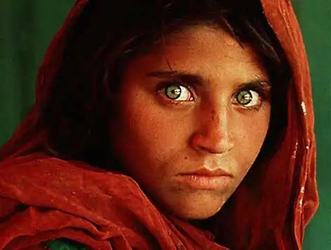 National Geographic Afghan Girl by Steve McCurry